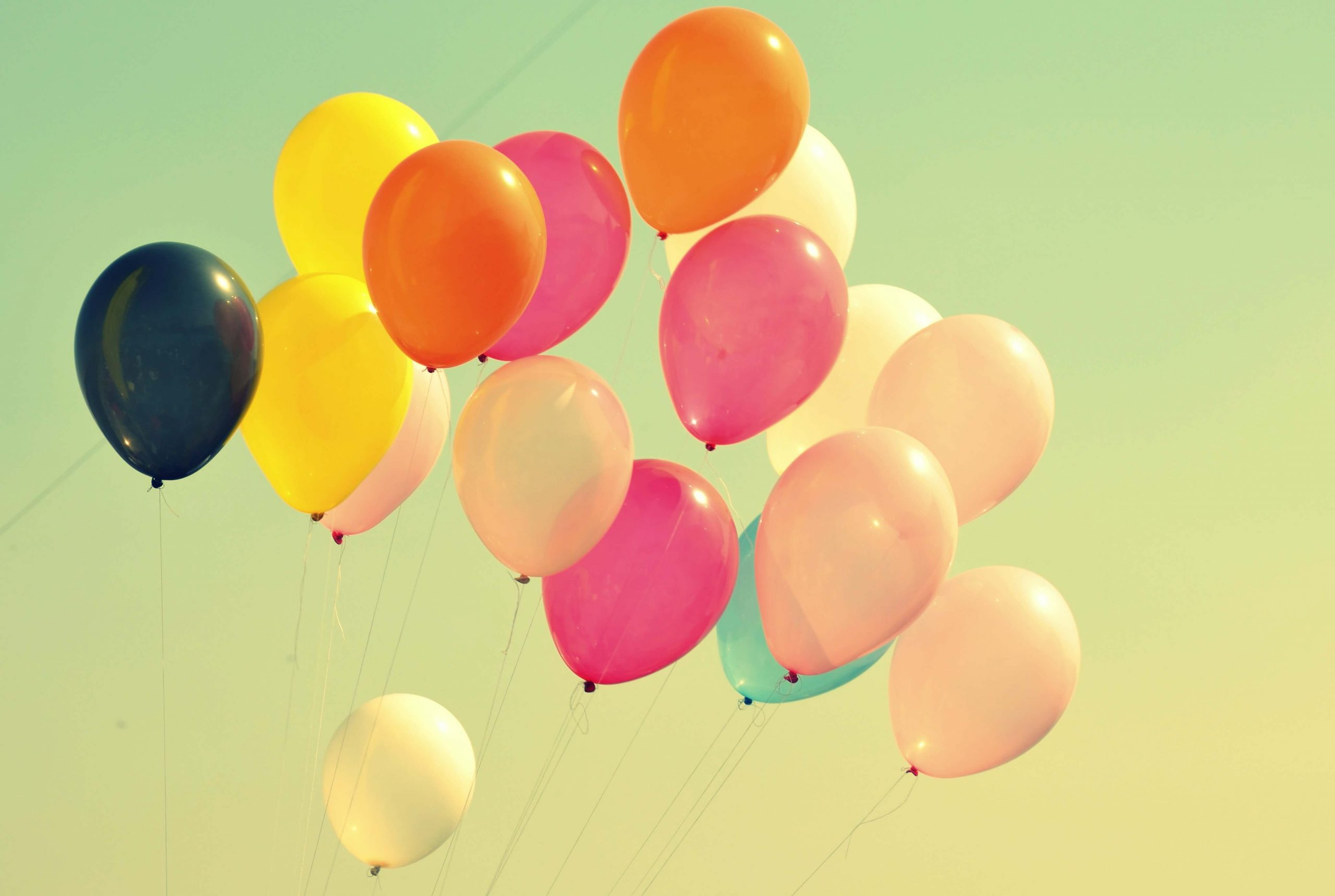 supports content #1 which discusses about balloons and using 100% biodegradable ones